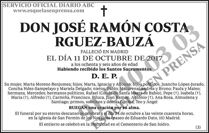 José Ramón Costa Rguez-Bauzá -- José Ramón Costa Rodríguez-Bauzá